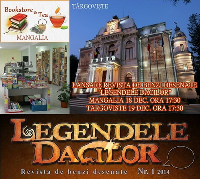 revista legendele dacilor