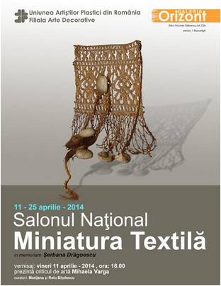 salonul national miniatura textila