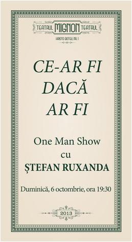 stefan-ruxanda-one-man-show