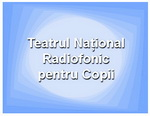 teatrul national radiofonic pentru copii sigla