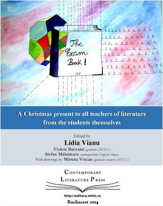 the exam book coperta