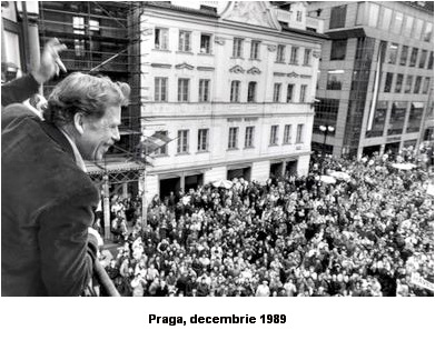 vaclav havel praga decembrie 1989