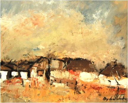 viata la tara peisajul pictura contemporana bogdan mihai radu