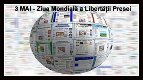 ziua mondiala a libertatii presei calendar 3 mai